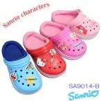 サンリオ サンダル SA9014-B ジュニア サックス レッド ピンク ライトピンク 15.0cm〜19.0cm