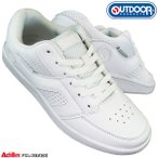 アウトドアプロダクツ 088 ホワイト ODP0880 通学靴 白スニーカー ホワイトシューズ 白靴 スクールシューズ キッズ メンズ レディース OUTDOOR アキレス