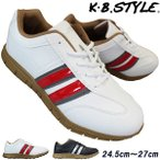 Yahoo!靴ショップやまうメンズ カジュアルシューズ KB.STYLE 15223 ブラック 幅広 軽量 お買い得 作業靴
