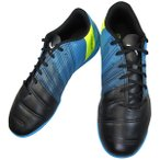 PUMA103539 02 PUMA EVO POWER 4.3 TT ブラック/ホワイト/アトミックブルー メンズ サッカートレーニングシューズ ターフ用 スパイク 靴 PUMA-103539