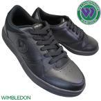WIMBLEDON ウィンブルドン 037 黒 メンズ レディース 3E KF79501 チャンピオン M125後継モデル ASAHI アサヒコーポレーション 黒靴