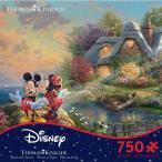 ディズニー ジグソー パズル グッズ  ミッキー ミニー ジグソーパズル 750ピース トーマスキンケード プリンセス ストア ランド パズル おもちゃ ゲーム 映画