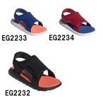 アディダス adidas サンダル キッズ  AJP-EG2232 EG2233 EG2234 CF SANDAL C ブラック ブルー レッド ジュニア 靴 シューズ 20SS H445