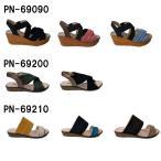 送料無料!ペネローペ PENELOPE レディース サンダル PN-69090 PN-69200 PN-69210 バックストラップ ウェッジ ミュール 靴 シューズ