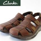 ショッピングサボ 『Clarks クラークス』Raffe Bay ラッフベイ(メンズ)  26115080 ブラウンレザー