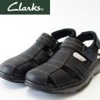 ショッピングサボ 『Clarks クラークス』Raffe Bay ラッフベイ(メンズ)  26115081 ブラックレザー
