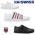 K-SWISS  CLASSIC88 ケースイス メンズテニススタイルレザースニーカー  クラシック88  ブラック ブルーホワイト レッド