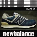 ニューバランス レディースメンズスニーカー ML574 ネイビーnewbalanceML574VN