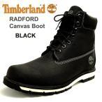 ショッピングTimberland ティンバーランド メンズキャンバスブーツ ラドフォード ブラックテキスタイル黒 A1MFI Timberland RADFORD CANVAS boot