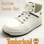 ショッピングTimberland ティンバーランド メンズ レイズタウン スニーカーブーツ ホワイトスムース A157p Timberland raystown