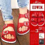 Miss EDWIN ミスエドウィン フットベットサンダル レディース 全3色 EW9401