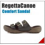 コンフォート サンダル メンズ トレイル 3E リゲッタカヌー RegettaCanoe CJTR5406 ブラック