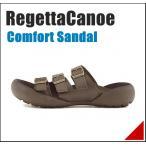 コンフォート サンダル メンズ トレイル 3E リゲッタカヌー RegettaCanoe CJTR5406 ブラウン