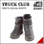 ワークブーツ ウィンターブーツ メンズ 防水 防滑 雨 雪 靴 トラッククラブ TRUCK CLUB T60488 ブラック
