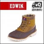 EDWIN(エドウィン) メンズ カジュアルブーツ EDM-8120 ブラウン