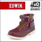 EDWIN(エドウィン) メンズ カジュアルブーツ EDM-8500 レッドブラウン