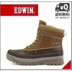 エドウィン ウィンターブーツ ビーンブーツ メンズ レインブーツ 長靴 EDWIN EDM-9906 ブラウン