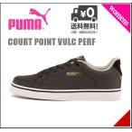 プーマ スニーカー レディース コート ポイント バルク パーフ BG 限定モデル COURT POINT VULC PERF BG PUMA 358889 プーマブラック/P