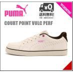 プーマ スニーカー レディース コート ポイント バルク パーフ BG 限定モデル COURT POINT VULC PERF BG PUMA 358889 ウィスパーホワイト/P