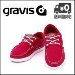 ショッピンググラビス グラビス スニーカー メンズ GRAVIS SKIPPER(スキッパー) 12861100 600 レッド