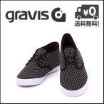 グラビス ローカット スニーカー メンズ クオーターズ GRAVIS QUARTERS 12860101 ブラック