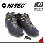 ショッピングトレッキングシューズ ハイテック ハイカット トレッキングシューズ スニーカー メンズ アオラギ クラシック WP 防水 EE AORAKI CLASSIC WP HI-TEC HKU08 ブラック