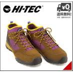 ショッピングトレッキングシューズ ハイテック トレッキングシューズ ブーツ メンズ アオラギ ミッド 936 WP 限定モデル 軽量 AORAKI MID 936 WP HI-TEC HKU936AS ブラウン/パープル