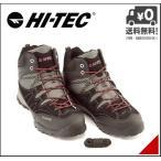 ショッピングトレッキングシューズ ハイテック トレッキングシューズ ブーツ メンズ アオラギ ミッド WP 軽量 防水 EE AORAKI MID WP HI-TEC HKU06 ブラック