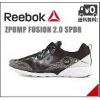 リーボック メンズ ランニングシューズ スニーカー Zポンプ フュージョン 2.0 スパイダー ZPUMP FUSION 2.0 SPDR Reebok V72397 ブラック/C/R