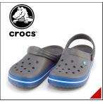 ショッピングサボ クロックス クロッグ スポーツ サンダル メンズ クロックバンド CROCBAND crocs 11016 チャコール/オーシャン