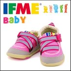 イフミー 女の子 ベビー シューズ 靴 スニーカー ベルクロ IFME 22-4700 ピンク