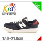 ニューバランス 男の子 キッズ 子供靴 スニーカー KT300 new balance 161300 ネイビー/レッド