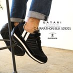 パトリック スニーカー クールマラソン ブラック PATRICK C-MARATHON BLK 529201靴紐通し済