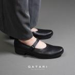 ショセ トラベルシューズ ワンストラップパンプス chausser travel shoes TR-002 BLK