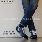 ショッピングCROW パトリック スニーカー アイリス クロウ ブラック PATRICK IRIS CROW 23851 靴紐通し済