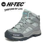 戶外鞋 - 防水 ハイテック HI-TEC HT TRW699 グレー レディース トレッキングシューズ  アウトドア 3E
