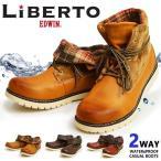 馬靴 - スノーブーツ 靴 メンズ 2WAY ワークブーツ ブーツ 防寒靴 防水ブーツ レインブーツ スノーシューズ レイン シューズ 雨の日 靴 2017 冬