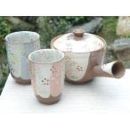 贈答品におすすめ 京焼 清水焼     花いろ茶の間セット 加春
