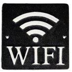 [TKG16-2331] スクエアサイン WiFi  BL S355-116ABK