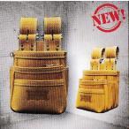 ニックス(KNICKS) KGC-301DDX 最高級硬式グローブ革チェーンタイプ3段腰袋(キャメル)