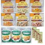 非常 防災 食品 5年保存 安心3日分セットA 尾西のごはん&パンの缶詰&井村