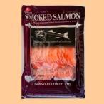 鮭魚 - スモークサーモンスライス(冷凍) 500gパック×2個(計1kg) 業務用◇三洋食品