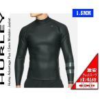 タッパー ハーレー HURLEY 1.5mm ウインドスキン ジャケット 長袖 黒