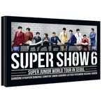 SUPER JUNIOR - SUPER SHOW 6 : SUPER JUNIOR WORLD TOUR IN SEOUL DVD (2 DISC)