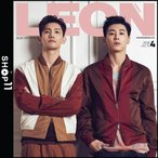 �ڻ���ͽ��ۡ����̿�VER�����LEON KOREA ɽ�桧TVXQ �������� 2018ǯ 4��� �ڹ� ���� �ޥ����� Korean Magazine�ڥ�ӥ塼�����̿�5��ۡ�����̵����