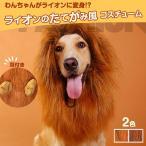 犬用コスチューム ライオン たてがみ 犬用被り物 かぶりもの 耳付き 変身グッズ ペット用ウィッグ ◇ALW-F-CS0278