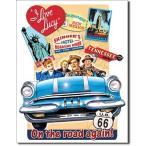 壁飾りI Love Lucy - On the Road Again TV Tin Sign 13 x 16in