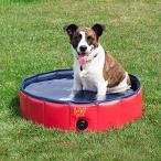 ビニールプールFrontPet Foldable Dog Pet Pool Bathing Tub (32 Inches X 11.8 Inches)