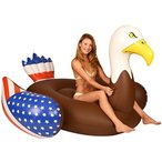 フロートKangaroo Pool Floats Bald Eagle Pool Raft 6.5 Ft