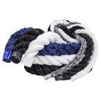 海外正規品FMS Ultra Soft Triple-Strand 1/4 Inch & 1/2 Inch Twisted Chenille Rope by The Foot, 10 Feet, 25 Feet, 50 Feet, 100